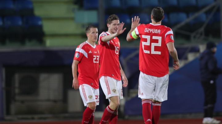 Сборная России сыграет на Евро-2020 в одной группе с командами Дании и Бельгии