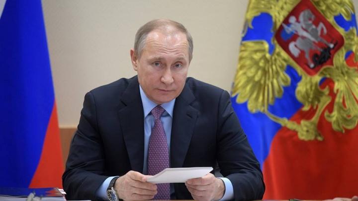 Путина официально выдвинули кандидатом в президенты