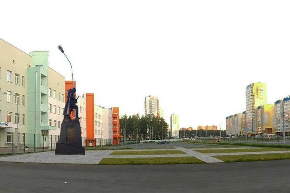 Памятник установят рядом с крупной школой в «Парковом»
