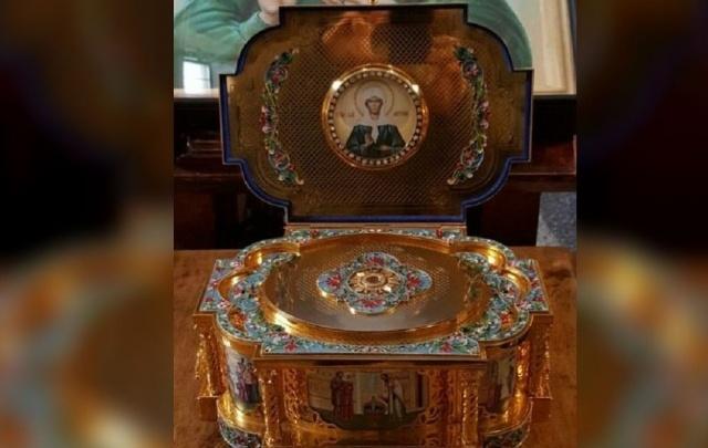 В Уфу прибыл ковчег с частицей мощей святой Матроны Московской