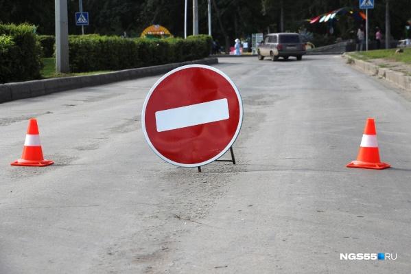 На подъездах к дороге разместят щиты с путями объезда