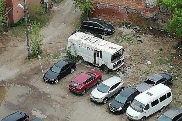 Фото автобуса городским властям самарцы прислали в мае 2019 года