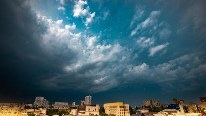 Штормовое предупреждение: с 8 по 11 мая в Ростовской области пройдут грозы с ливнями