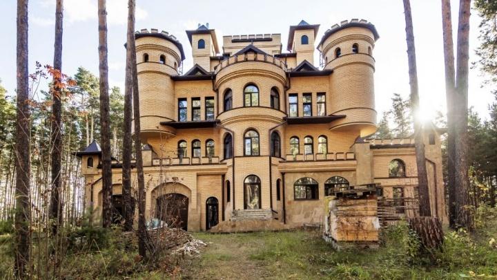 В Кудряшах выставили на продажу замок за 135 миллионов
