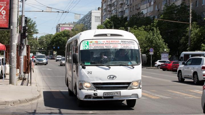 Ростовский автобусный маршрут №85А может прекратить работу