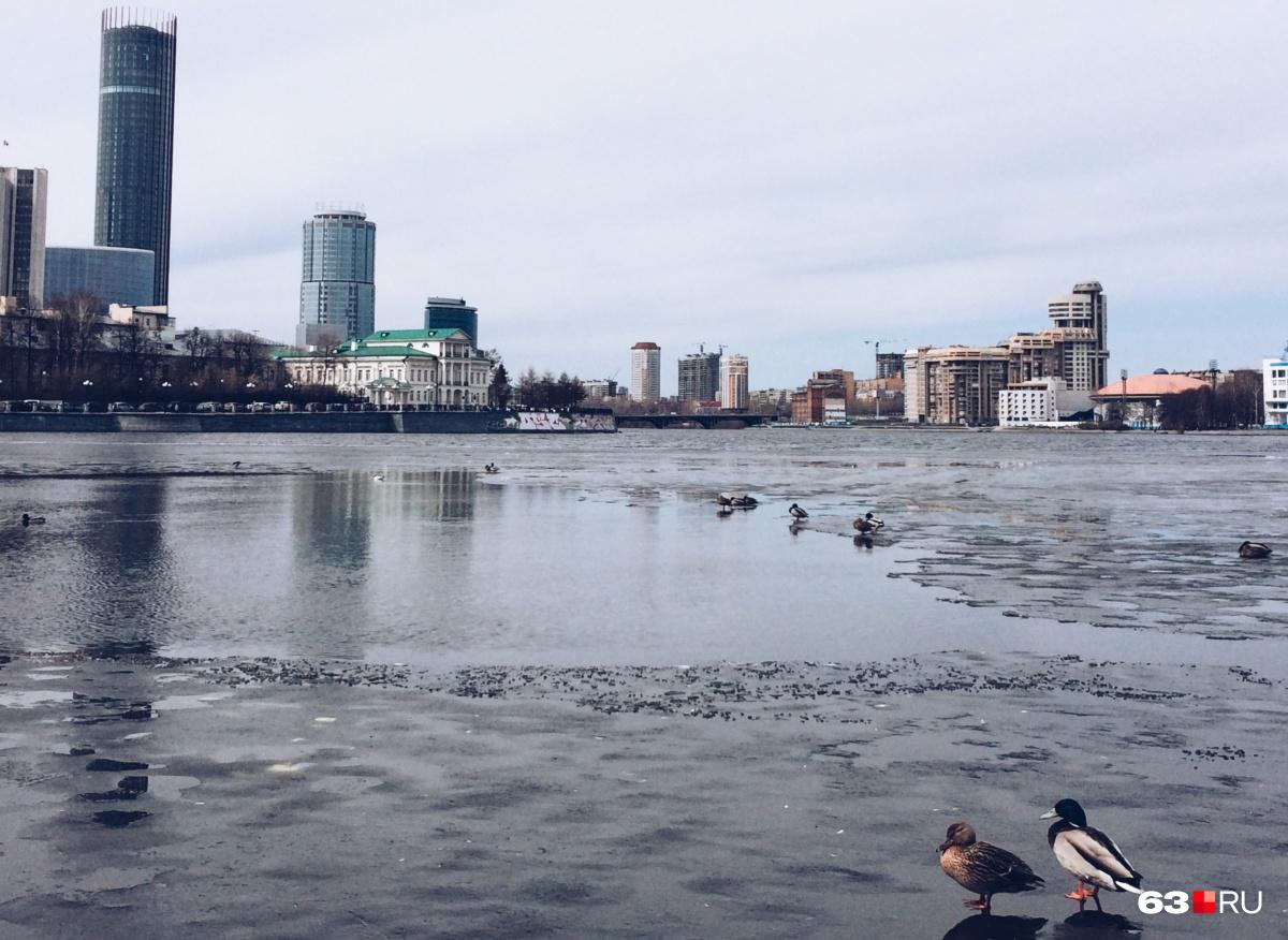 В Екатеринбурге высотки более-менее органично вписались в архитектуру города