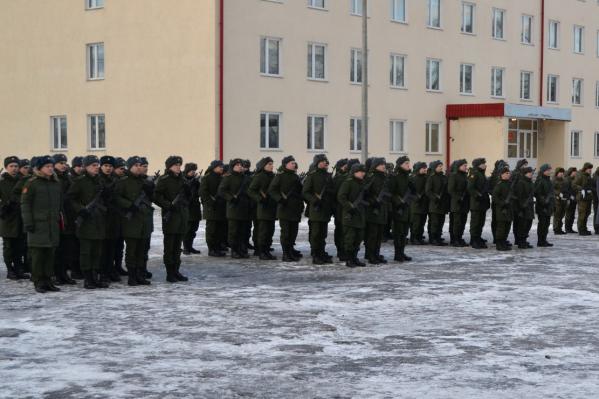 Илья Ботыгин проходит срочную службу в Нижегородской области