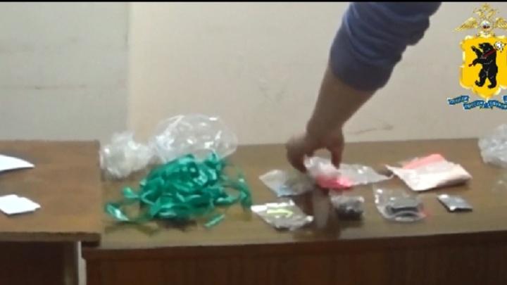 В Ярославле задержали торговца с ворохом наркотиков