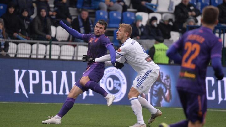 Без ударов в створ, но с ничьей: футбольная «Уфа» приехала в гости к «Оренбургу»