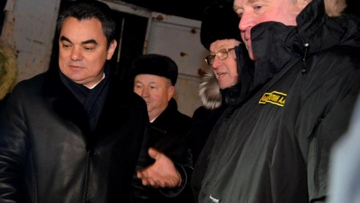 Мэр Уфы проверил ход работ на Тимашевской развязке