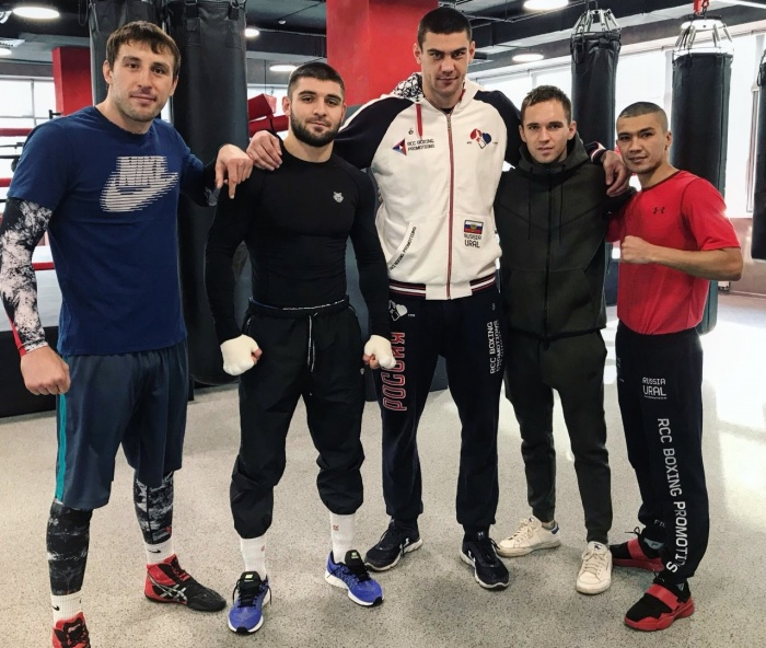 Команда RCC Boxing Promotions