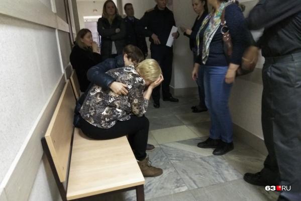 Мать погибшей женщины не смогла сдержать слёз после такого решения суда