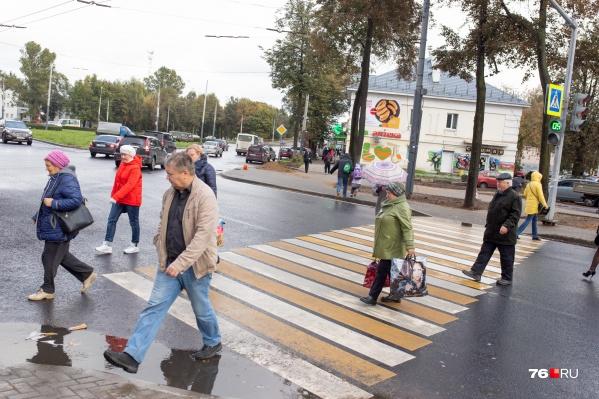 А пока — шире шаг, пешеходы!