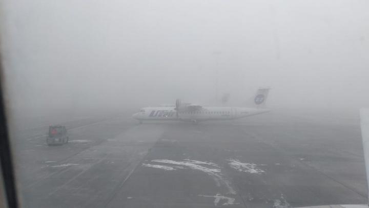 В Кольцово из-за тумана задержали 15 рейсов