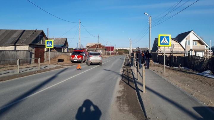 В Соликамске автомобиль сбил подростка на пешеходном переходе