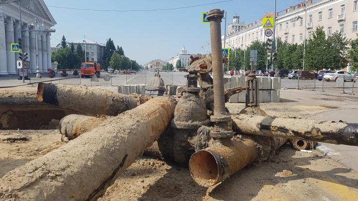 «Водный союз» получит из бюджета Кургана 230 миллионов рублей на ремонт сетей и устранение аварий