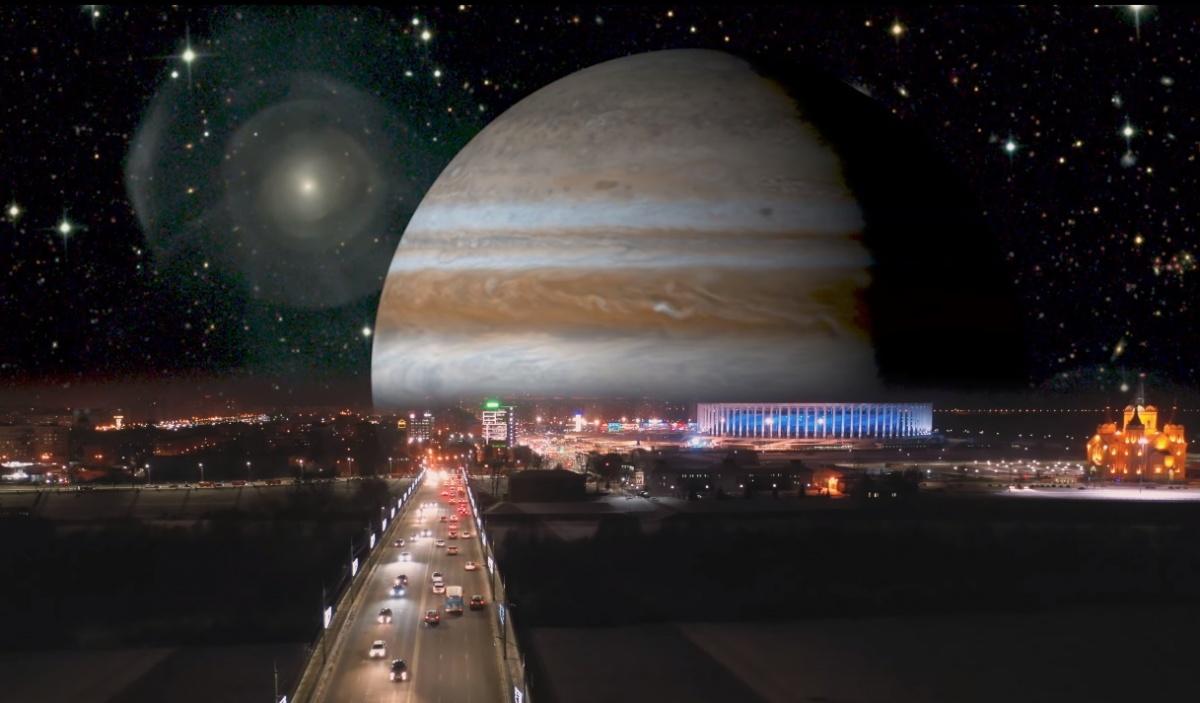 Приближенные звезды и планеты очень подходят Нижнему Новгороду