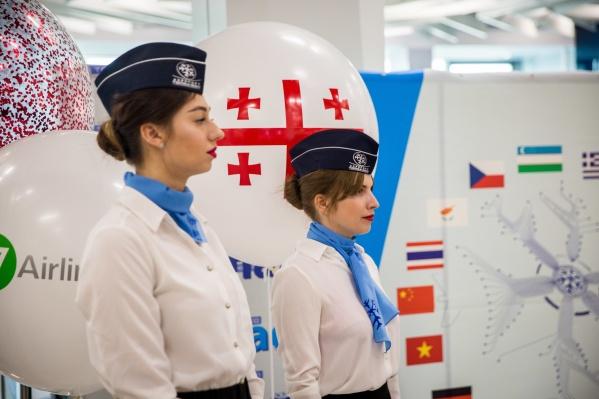 Рейс в Батуми запустила авиакомпания S7 Airlines