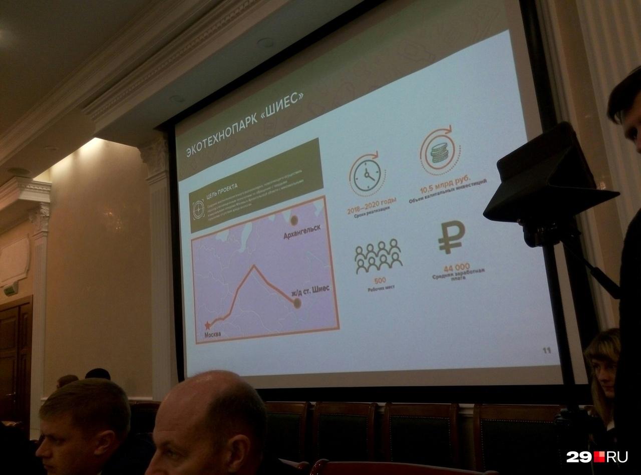 Презентация проекта технопарка в Шиес