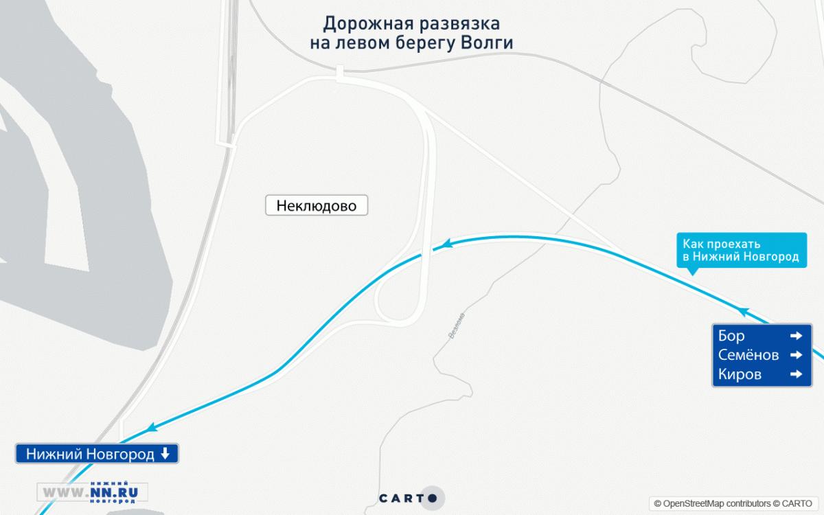Движение поновому Борскому мосту открылось вНижнем Новгороде 31июля