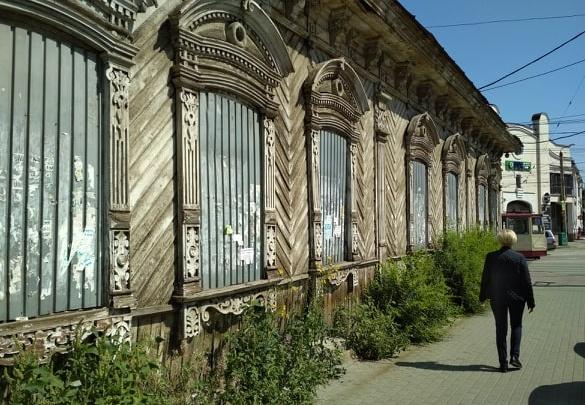 «Проклятый старый дом»: старинный особняк в центре Челябинска повторно выставили на торги за рубль