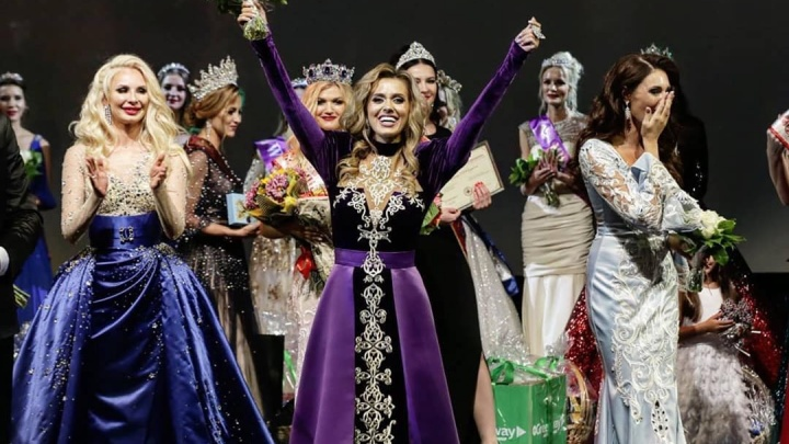 С Дюжевым и в ЦУПе: самарская красавица стала первой вице-миссис России