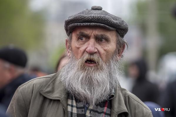 Поддержать партию на площадь Ленина пришли 1 мая несколько десятков человек