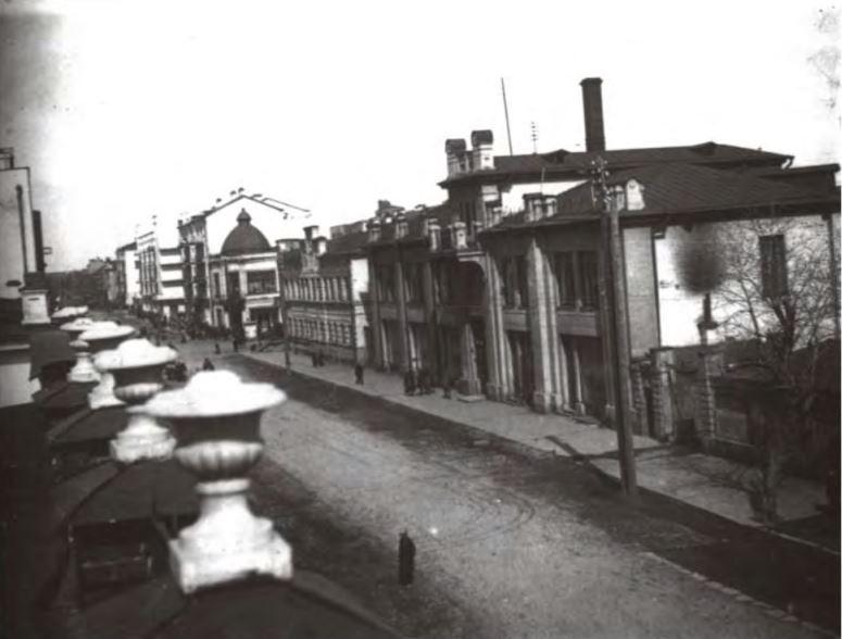Улица Вайнера в 1930-х годах