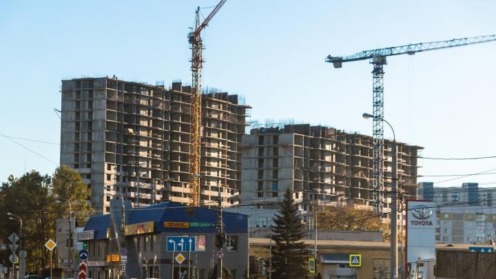 Самарская область отстает по вводу жилья от Башкирии и Татарстана