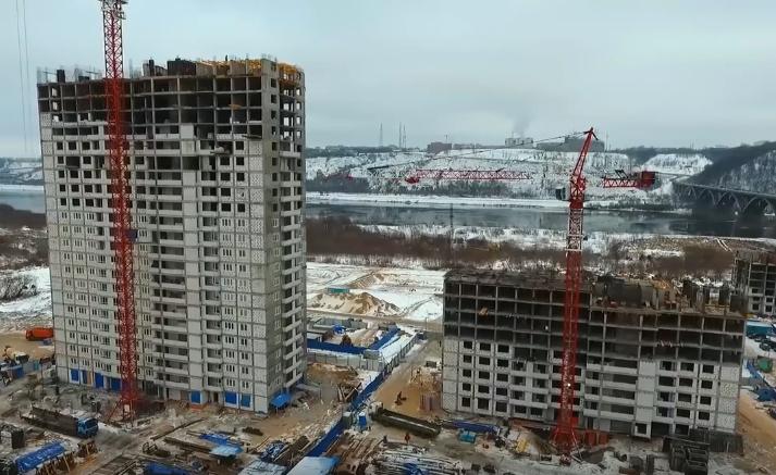 Суд позволил продолжить строительство дома вЖК «Аквамарин»