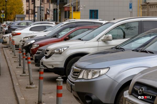 Скоро платных парковок в Самаре будет больше