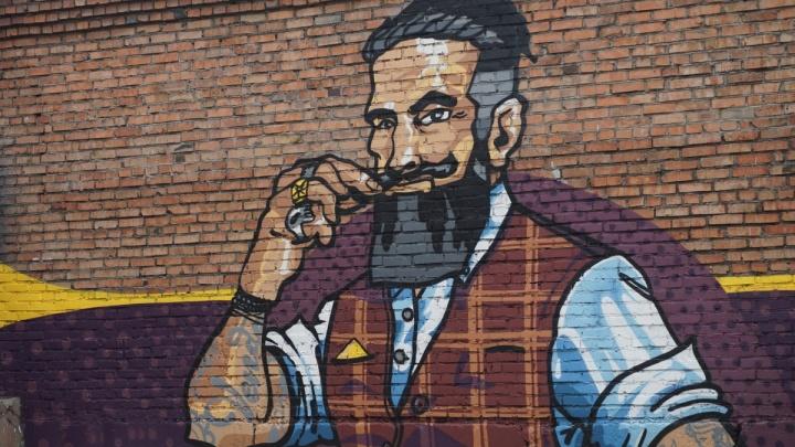 Яркие и необычные граффити появились в Центральном парке