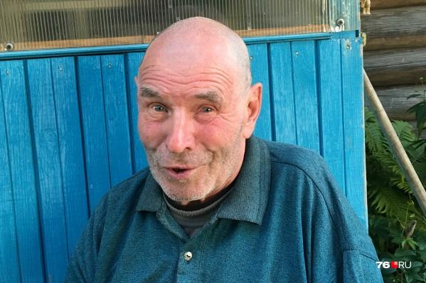 80-летний Вячеслав Сидоров ушёл вчера из дома и не вернулся