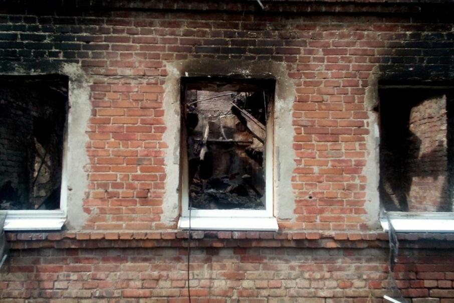 После пожара за Театральной площадью 218 семей остались без своего жилья