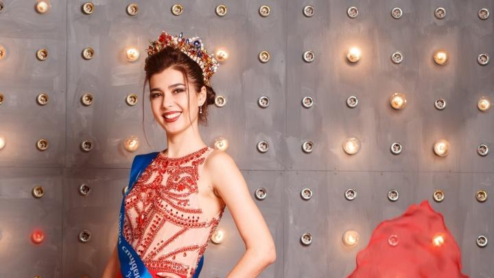 Она еще и боксирует: разглядываем фото уфимки, которая стала участницей конкурса «Мисс Россия-2019»