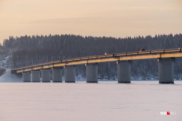 Новый мост через Чусовую построят рядом со старым
