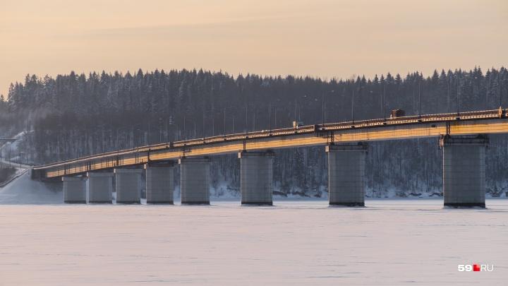 Генподрядчик пообещал построить Чусовской мост до конца 2021 года, если увеличат финансирование