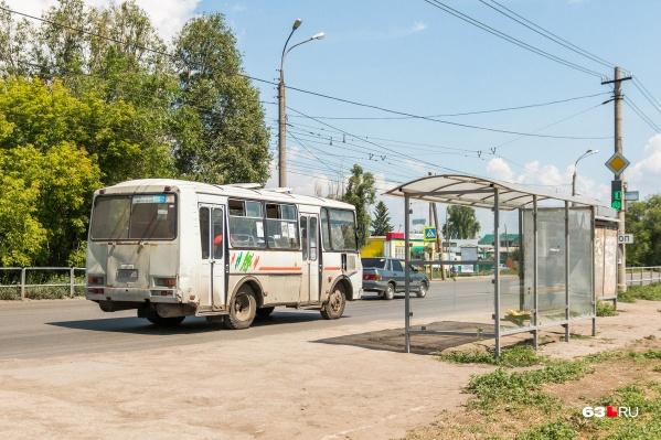 В Самаре по некоторым маршрутам до сих пор ходят старые пазики