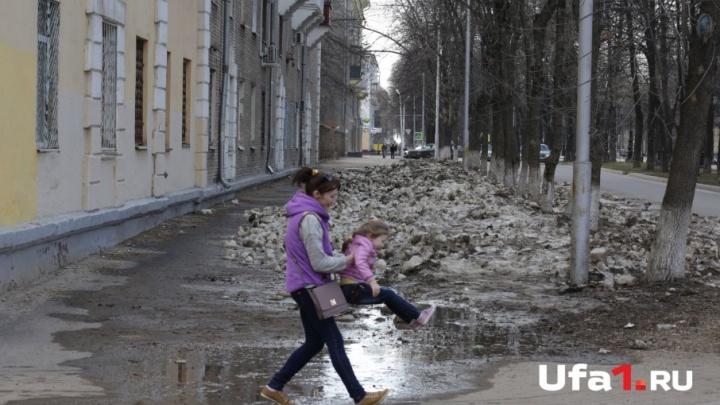 В Башкирии потеплеет до +14 градусов