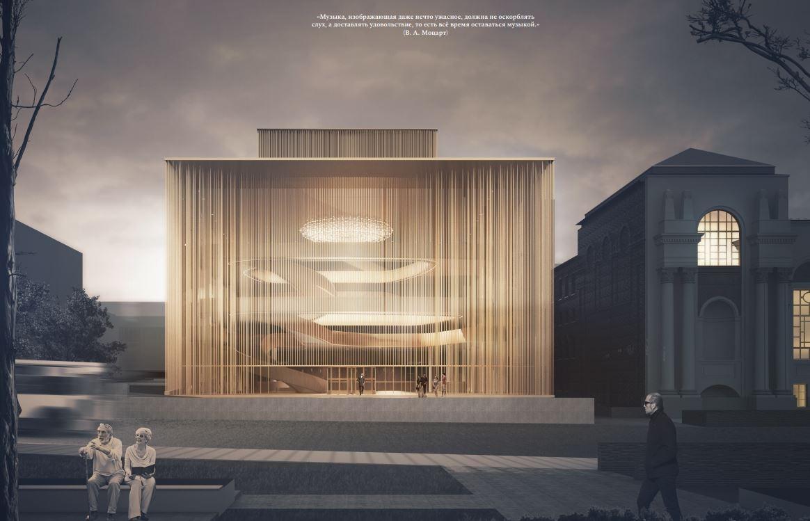 Проект, который занял третье место — работа архитекторов из Венгрии