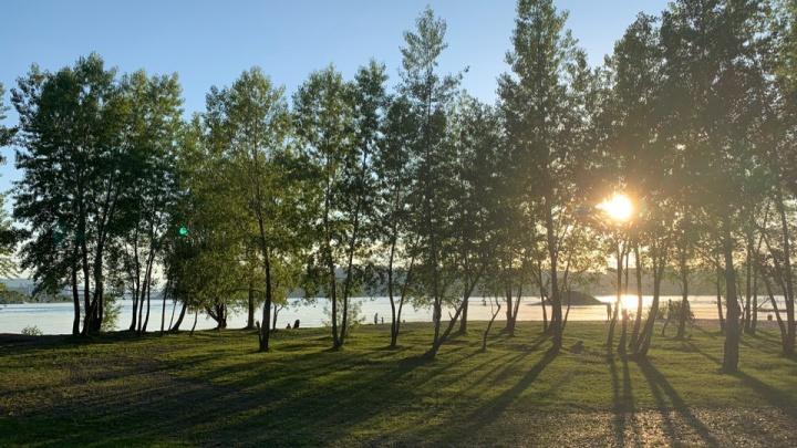 Жара и грозы надвигаются на Красноярск в выходные