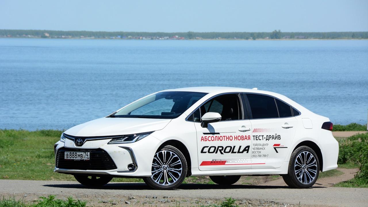 На тесте была Corolla в самой дорогой версии «Престиж Safety»