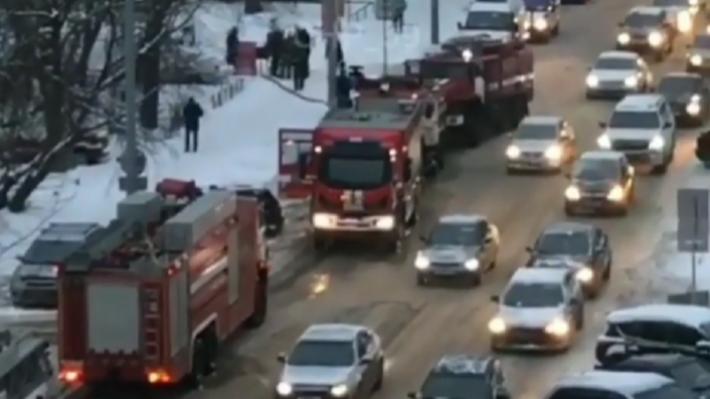 В центре Перми загорелось общежитие. Жильцы считают, что это поджог