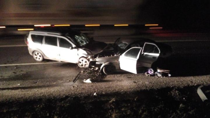 Лобовое ДТП на трассе М-8: пострадали четыре человека