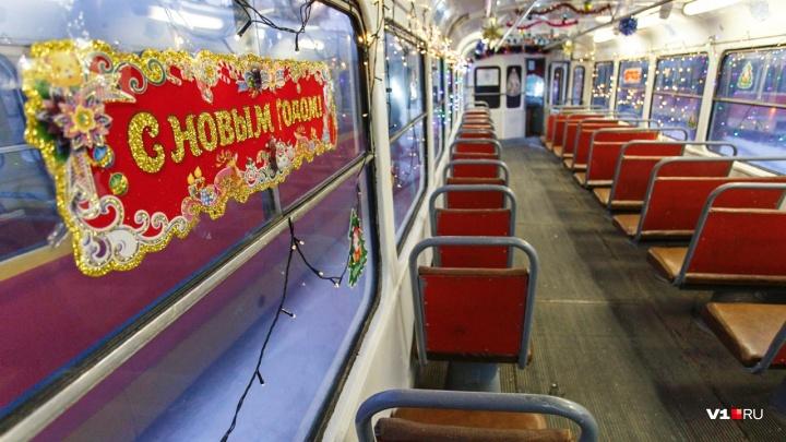 До утра: администрация Волгограда опубликовала расписание электротранспорта в новогоднюю ночь