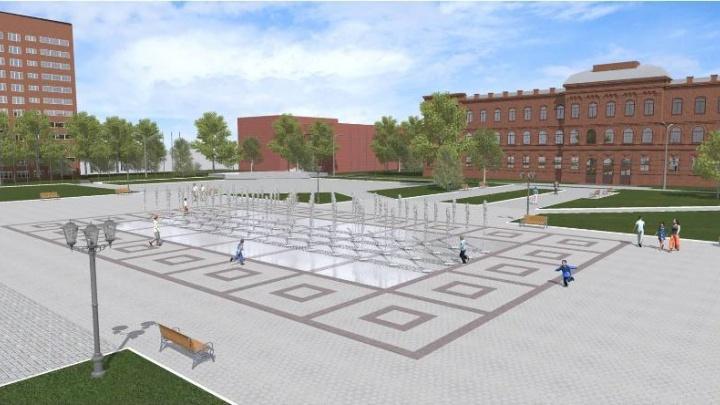 Центральная площадь изменится до неузнаваемости: в Рыбинске снесут фонтан на Дерунова