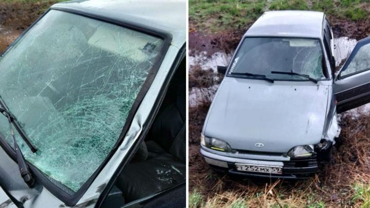Водитель ВАЗа насмерть сбил мальчика на обочине