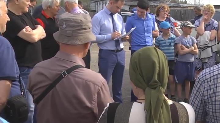 В Кетовском районе приступают к работе с последствиями пожаров