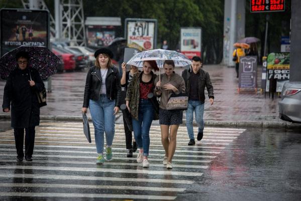 В пятницу через территорию Новосибирской области пройдёт холодный атмосферный фронт