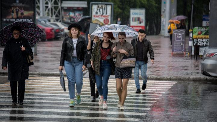 Новая волна холода несёт в Новосибирск грозы с порывистым ветром